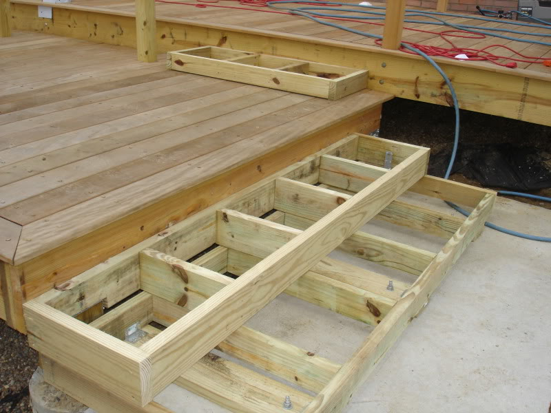 Box Steps Plans For Decks : Gallery lake charles lafayette la able fence deck